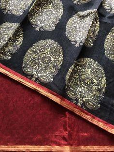 Printed art silk saree Raw Silk Saree, Silk Sarees, Blouses, Art Prints, Printed, Collection, Dresses, Fashion, Art Impressions