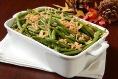 Garlic Roasted Green Bean Casserole