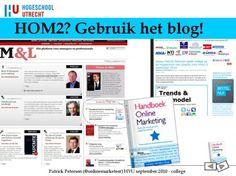 Slide9 - gebruik het blog bij het boek!