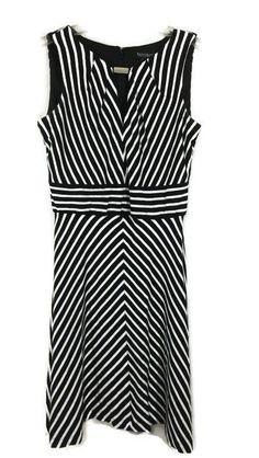 168cba57613c9 Spring Sexy Sleeveless Stripe Black Clothing Women Cause Split Maxi A-Line  Dress | eBay