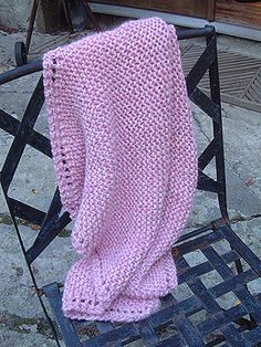 Free Baby Blanket knitting pattern - FREE from Fab! size is perfect for preemies! Free Baby Blanket knitting pattern - FREE from Fab! 15 size is perfect for preemies! Easy Knit Baby Blanket, Free Baby Blanket Patterns, Knitted Baby Blankets, Baby Knitting Patterns, Knitting Yarn, Free Knitting, Scarf Patterns, Knitting Projects, Crochet Projects