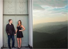 Griffith Observatory Engagement Session from Eyelet Images