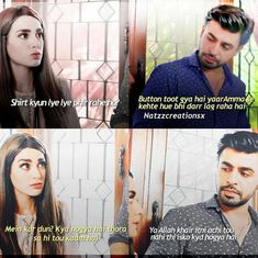 hahahahahahaha Pakistani Dramas, Pakistani Actress, Drama Film, Drama Movies, Funny Quites, Pak Drama, Feroz Khan, Iqra Aziz, Desi Humor