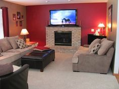 Family Room Remodel / Redecorating