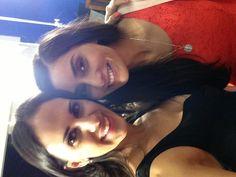 Con Paola Núñez en @AztecaDestino telenovela