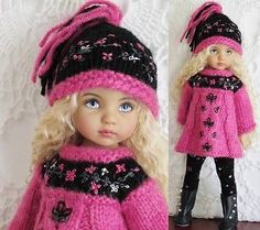SWEATER-LEGGINGS-HAT-BOOTS-SET-MADE-FOR-EFFNER-LITTLE-DARLING-SAME-SIZE-13-DOLL. SOld for $89.99 on 10/14/14.