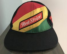 8e8d45d26f5 Jamaican Red Stripe Beer Baseball Hat