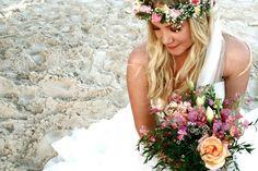 bohemian beauty -- gorg #destination wedding bride!