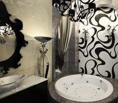 art deco interiors, modern interior design and decor, room furniture and lighting fixtures...