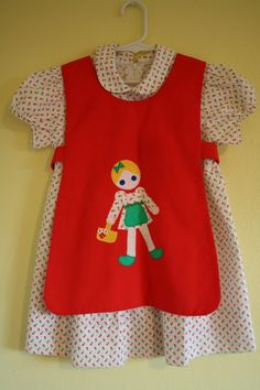 #vintage toddler dress - this is really adorable. :)