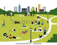 http://thumb7.shutterstock.com/display_pic_with_logo/2277758/189220391/stock-photo-illustration-of-city-life-in-park-189220391.jpg