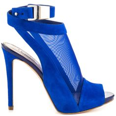 Adalie - Blue Multi Sue by Guess Footwear Hot Shoes, Crazy Shoes, Blue Shoes, Blue Pumps, Guess Shoes, Me Too Shoes, Peep Toe Shoes, Shoes Heels, Zapatos Shoes