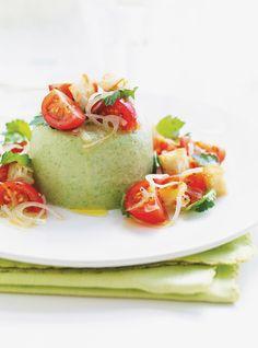 Salade autrement (Panna cotta à la laitue) Recettes   Ricardo