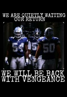 Damn right we will be back 10 times stronger! I bleed blue Dallas cowboy Fan even after I die! Dallas Cowboys Quotes, Dallas Cowboys Football, Football Memes, Cowboys 4, Football Stuff, Football Team, Dallas Cowboys Wallpaper, Cowboy Images, How Bout Them Cowboys