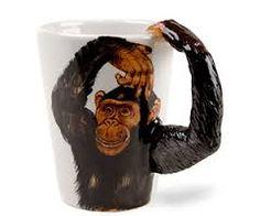 Image result for chimpanzee mug