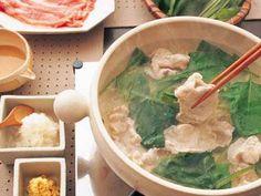 常夜鍋 レシピ 渡辺 あきこさん|【みんなのきょうの料理】おいしいレシピや献立を探そう Nabe Recipe, Soup, Yummy Food, Asian, Foods, Drink, Meat, Chicken, Cooking