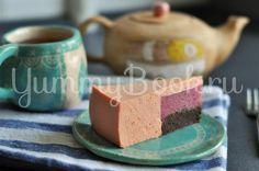 Муссовый торт с клубникой и грейпфрутом - пошаговый рецепт с фото