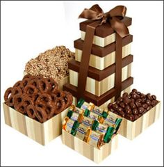 Ideas for a chocolate flavoured gift box.... or just to eat!