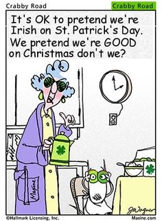 We love some good 'ol holiday humor in the spirit of St. Patrick's Day! #funny #comic #stpattysday