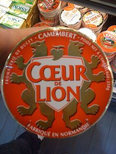 Camembert Coeur de Lion - LOL !!!
