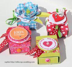 DIY beautiful matchboxes - Tuto boîtes d'allumettes décorées