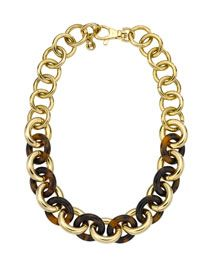 Michael Kors new jewelry collection. Loving this bold statement necklace
