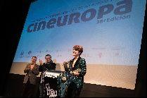 Bárbara Lennie recoge el premio Cineuropa