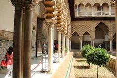 Spain, Sevilla, El RealAlcázar de Sevilla