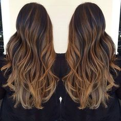 Ombr and highlights by talented Hawaii hair stylist, Pash. i want this but with red and strawberry blonde (: