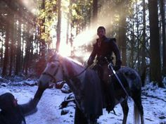 Prince charming on a horse ^^^The light behind him makes it magical