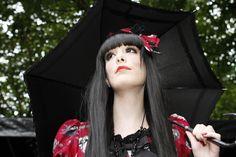 =^_^= ~Nya Gothic Lolita Fashion, Yohji Yamamoto, Dark Fantasy, Ultra Violet, Grunge, Punk, Kawaii, Photo And Video, Model