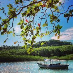 Se você procura aventura, um lugar para nadar e andar de barco com as crianças e muita natureza, Caraíva-BA é o lugar certo! Para chegar na Vila, somente de barco :)