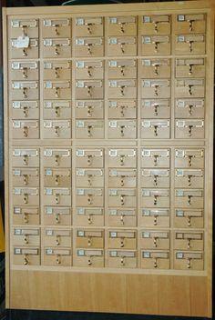Library Card Catalog   eBay