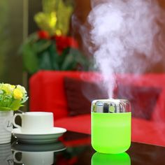 New Mini essential mist maker air humidifier for aromatherapy