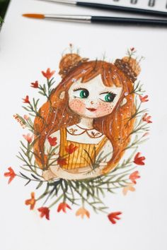 Using watercolor give the custom portrait paintings a more etheric feeling. I feel that this medium makes the custom watercolor portraits feel more alive than with oil based colors or acrylic. Portrait Paintings, Watercolor Portraits, Watercolor Paintings, Squirrel, Illustration, Oil, Medium, Colors, Cute