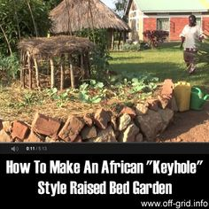 "Please Share This Page: If you are a first-time visitor, please be sure to like us on Facebook and receive our exciting and innovative tutorials and info! Here's a fascinating tutorial by Send a Cow on how to build an African ""Keyhole"" style raised bed for your garden. It goes at quite a fast pace [...]"