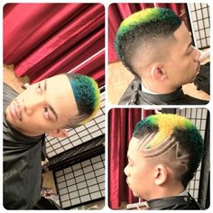Wicked Colouring and Design on this Black Mohawk