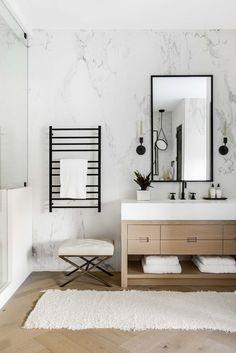 Upstairs Bathrooms, Master Bathroom, Master Baths, Powder Room Design, Modern Vanity, Bathroom Design Luxury, Interior Exterior, Dream Rooms, Bathroom Inspiration