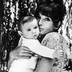 Rare Audrey Hepburn — Audrey Hepburn with son Luca Dotti, 1971. Bonne...