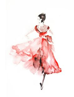 Hey, I found this really awesome Etsy listing at https://www.etsy.com/listing/191505567/ballerina-watercolor-painting-art-print