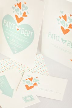 Custom Letterpress Stationery and Wedding Invitations by Mitchell and Dent | Oh So Beautiful Paper