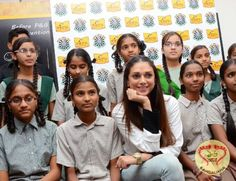 Aditi Rao Hydari Visits the P&G Shiksha School in Hyderabad; Believes in the Power of Education for girl child  Read more: http://sholoanabangaliana.in/blog/2015/04/23/aditi-rao-hydari-visits-the-p-believes-in-the-power-of-education-for-girl-child/#ixzz3Y7VTRxM6