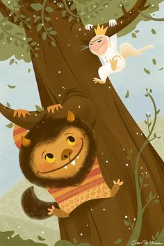 This is great! Where the Wild Things Are