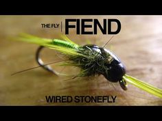 Wired Stonefly Fly Tying Tutorial | The Fly Fiend. - YouTube