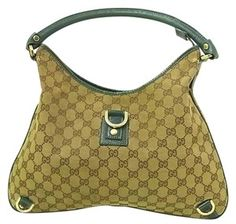 1fab1f1712f8 Gucci Abbey D-ring Extra Size Gold Hardware Excellent Vintage Great Everyday  Hobo Bag Gucci