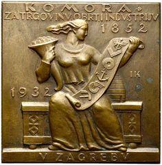 NumisBids: H.D. Rauch Auction 94, Lot 4378 : MEDAILLEN: EUROPA UND ÜBERSEE KROATIEN Zagreb (D) ...