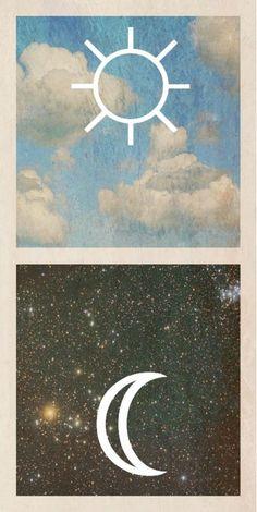 #moon #star #sky