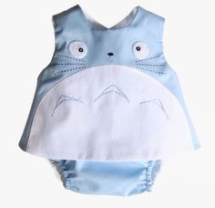 Blue Totoro outfit , my neighbor totoro, studio ghibli, new baby gifts by pipocass on Etsy https://www.etsy.com/listing/399238897/blue-totoro-outfit-my-neighbor-totoro