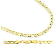 Mariner Bracelet 14k Yellow Gold Link Gucci Solid 3.1mm 7 inches Jewel Roses. $167.00. Save 56% Off!