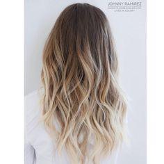 """johnnyramirez1 on Instagram: """"My hair color creation❤️ Lived in color™ #livedincolor #livedinblonde #livedinhaircolor"""""""